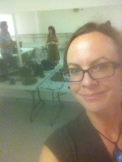sat workshop selfie