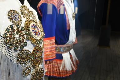 Traditional Sámi wear