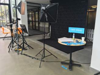 The Student Advocacy Photobooth.